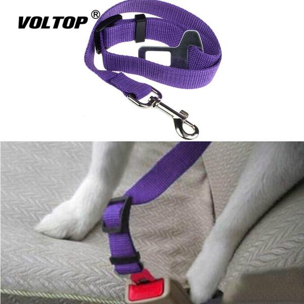 1pcs Haustier-Auto-Sicherheitsgurt Autozubehör Seatbelt Lead Clip Haustier Hund Katze-Sicherheits-Sicherheitsgurt mit Schulterpolstern Schloss