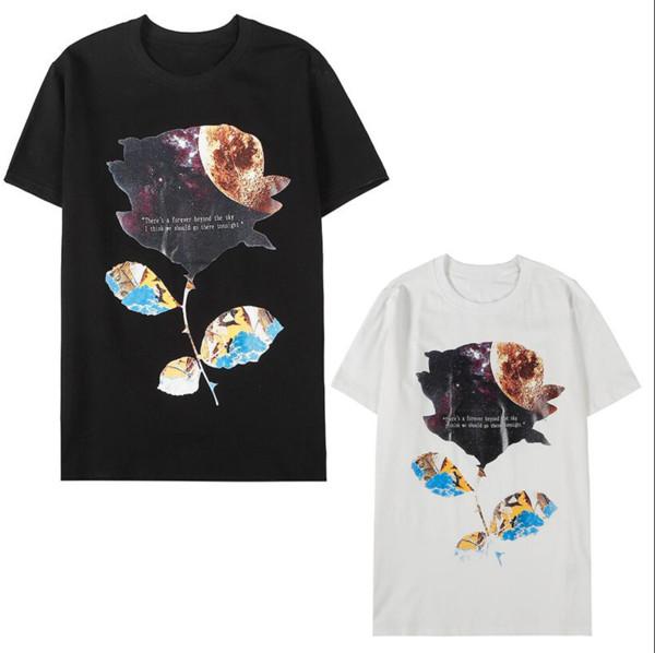 Harfler Yaz Marka Tee Gömlek Lüks Sıcak Erkekler Tasarımcı tişört Erkek Toptan Giyim Beden S-2XL ZWN912316 Tops