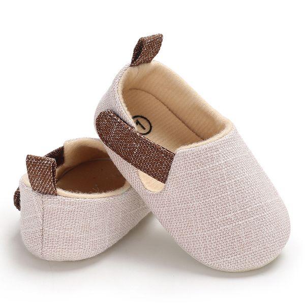 3 Renkler çocuklar ayakkabı Bebek spor tuval yürüyor yumuşak sole ilk yürüteç sneakers çocuklar koşu ayakkabıları Ayakkabı Prewalker Moccasins yürüyüş ayakkabıları