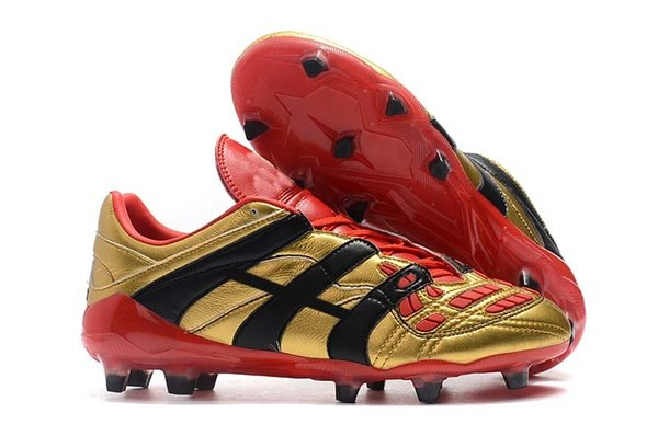 10.Gold Black/Red FG