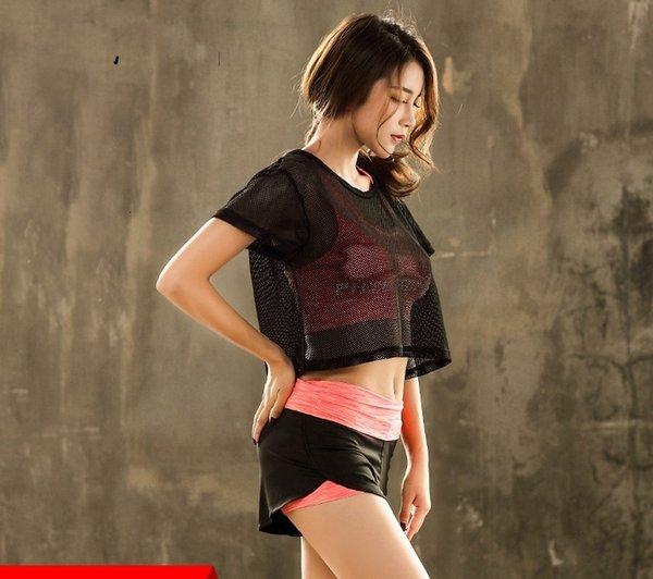 Maglia camicia-Bra-Short15