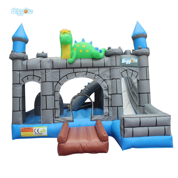 PVC Inflatable Bounce House Bouncy Castles For Children Outdoor Games With Blower