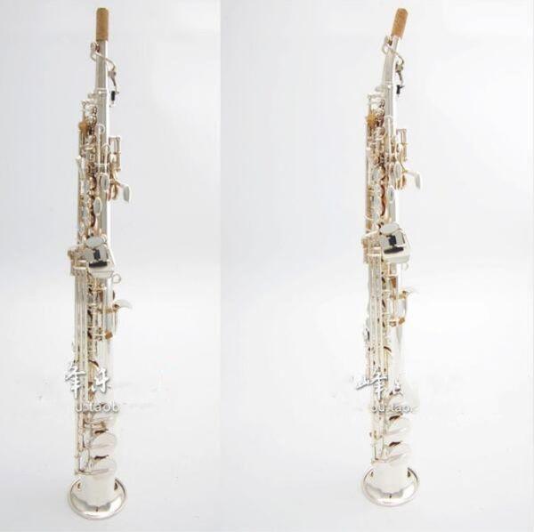 NewJapan Soprano Saxophone YANAGISAWA S991 BB Musical Instruments Sax Silver-plated Professional Free