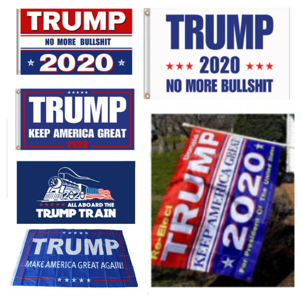 best selling Banner Trump Flag America Again For President USA Donald Trump 2020 Election Banner Flag Decor Flags 90*150cm Party Supplies HH7-1988