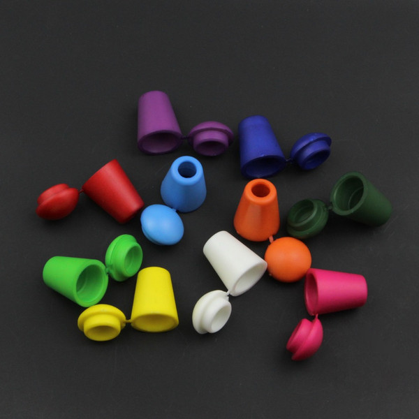 best selling 200pcs lot Colorful Cord Ends Bell Stopper With Lid Lock Plastic Toggle Clip For Paracord Clothes Bag Sports Wear Shoe