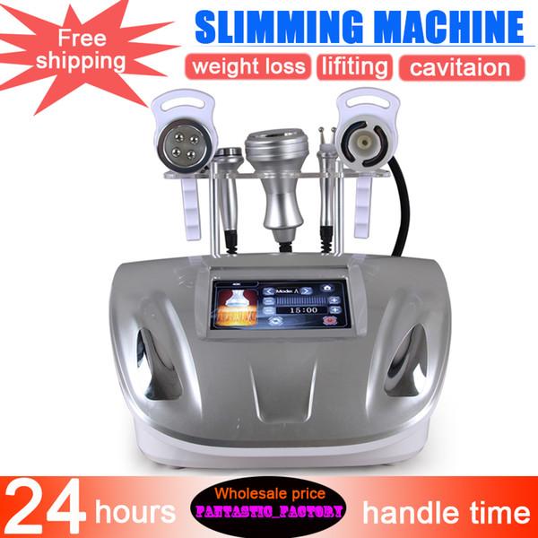 5 in 1 kavitasyon makinesi makinesi radyo frekansı yüz sıkma kilo kaybı Vakum Ultrasonik Güzellik zayıflama makinesi