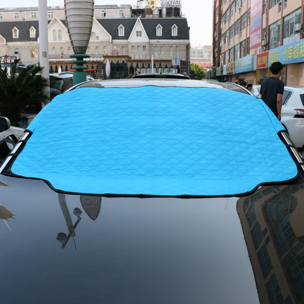 best selling wholesale Car Covers Windshield Cover Snow Waterproof Hail Auto Windscreen Sun Protector Umbrella Shade Outdoor Winter Thicken