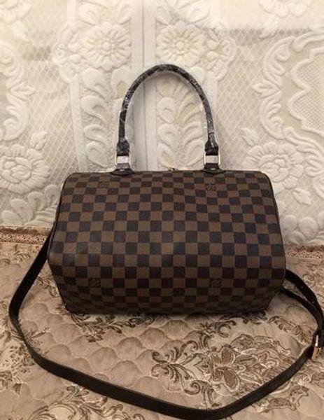 Classic City Bag Damen Leder Signature Schnelle Handtasche Reißverschluss Gürtel Damenhandtasche Handtasche Schultertasche