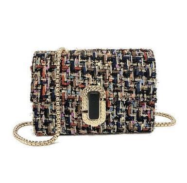 Summer 2018 new ins mini mini bag girdle chic chain single shoulder crossbody bag small square bag
