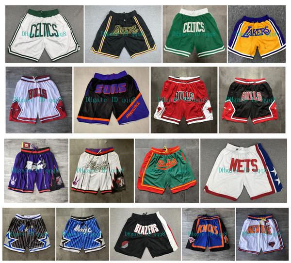top popular Top Quality ! 2019 Basketball Shorts Team basket Don Pocket Shorts Sport Shorts Pants pantalones cortos de baloncesto pantalones cortos 2020