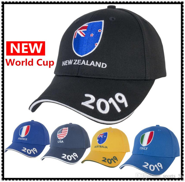 2019 Japan World Cup NEW ZEALAND RUGBY SUPPORTER CAP New Zealand national team cap