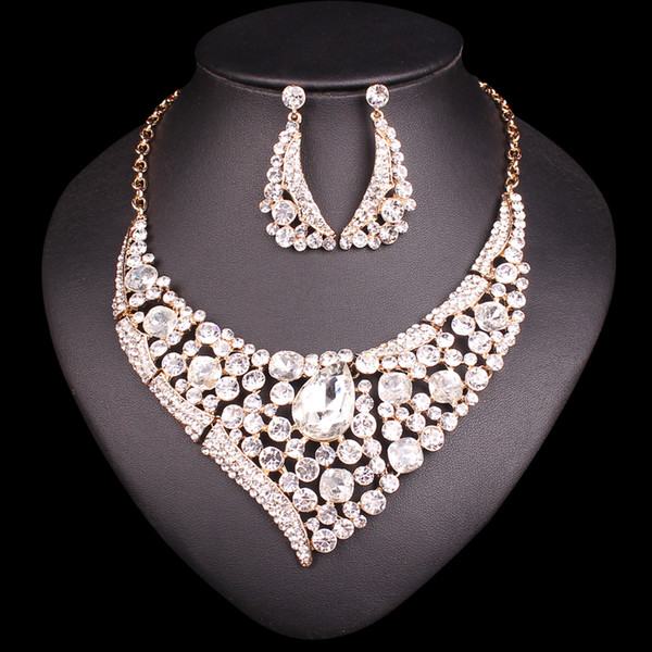 New Bridal Jewelry Sets Wedding Necklace Sets For Brides Party