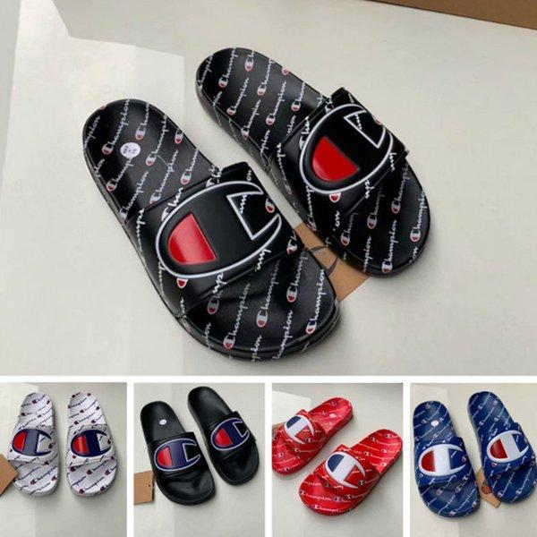 Mulheres Campeão Sandália de Verão Chinelo Deslizamento em Flip Flops Cunha Plataforma Sandálias de Chuva De Água Da Praia Mules Sapatos 35-44 Tamanhos A42508