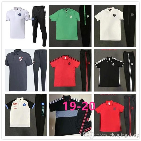 sale retailer a949d d2182 2019 Atletico Nacional Riverbed Naples Soccer Polo Shirt Kit 19 20 Ronaldo  MBAPPE Soccer Polo Shirt 2019 Real Madrid Paris Soccer POLO Shirt Kit From  ...