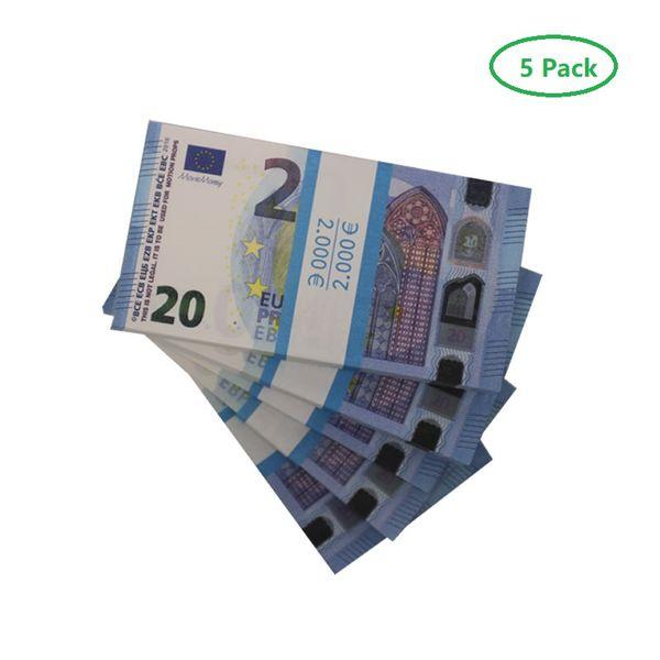 20 euros (5pack 500pcs)