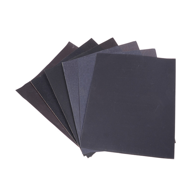 Sandpaper For Metal >> 2019 100 240 400 600 1000 2000 Waterproof Sanding Paper Wet Dry Polishing Sandpaper Grit Granularity Metal Wood Abrasive Tools From