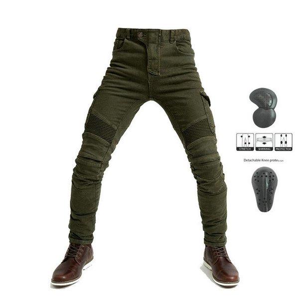 pantalones verdes N upads