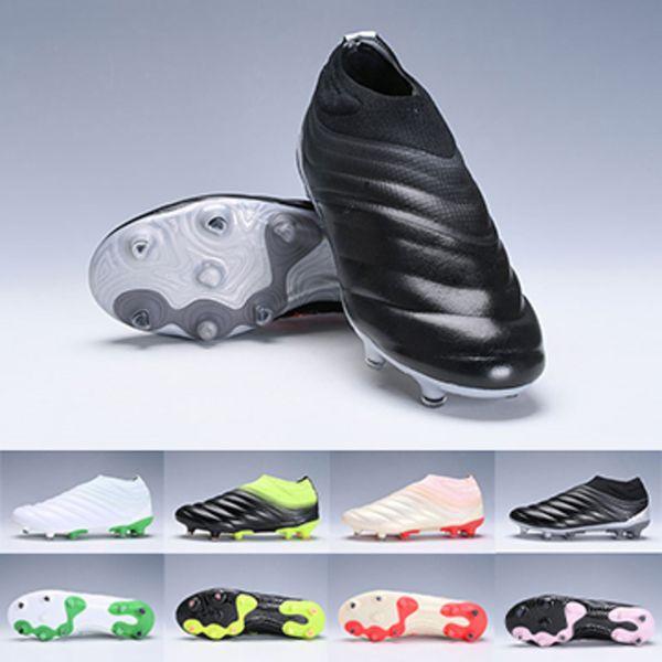 19 Copa Fg Mundial Fg Zapatos de fútbol Hombres Negro Blanco Verde Botines de fútbol Copa del mundo Botas de fútbol Botines Diseñador Hombres Zapatillas Tamaño 38-45
