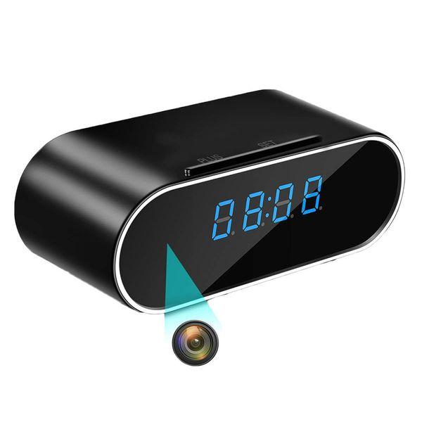 Ev Güvenlik SF66 için yeni 1080P Kablosuz Kamera Çalar Saat Hareket Algılama Dadı DVR Gece Görüş