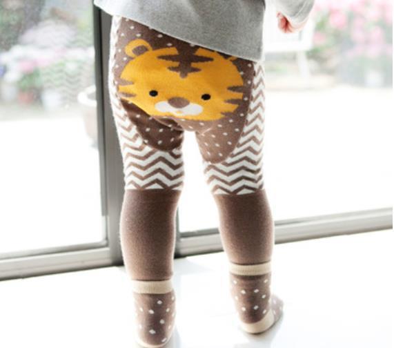 Baby Girls Tights 2016 New Autumn Cute PP pants + Socks Cartoon Toddler 2pcs Sets Fashion Beetle Polka Dots Infant Leggings C367