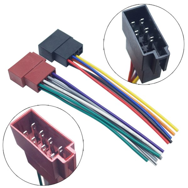 wholesale Car Stereo Wiring Harness For Volkswagen/Audi/Mercedes Plug Into OEM Factory Radio CD Audio Installation (Power&Speakers) #5262