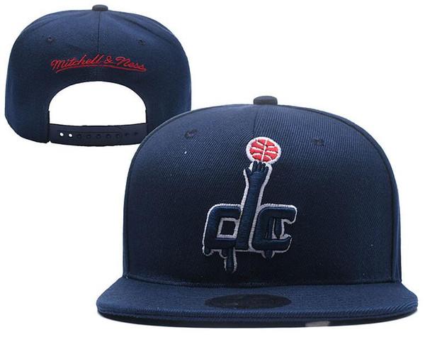 2019 Hats Cap For Man Woman Snapbacks Baseball Hat snapback N Y Flat brim Cap strapback Embroidery Washington hat WAS Cap Tide Brand hats