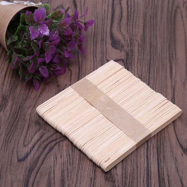1500pcs cera de madera espátula espátula depresor de lengua desechables palos de bambú Kit