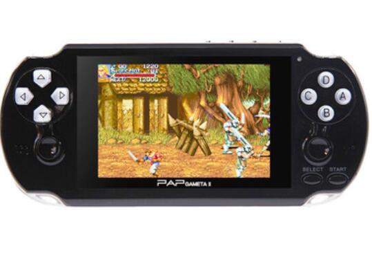 Console di gioco portatili PAP Gameta II Videogiochi portatili a 64 bit Retro Videogiochi Costruiti in 16 GB Supporto TV Uscita MP3 MP4 MP5 Fotocamera 1 pz