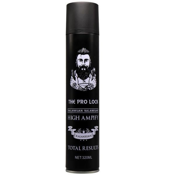 320 ml moda sprays de cabelo secagem rápida estilo forte cabelo cera de cabelo para homens barbeiro salão de cabeleireiro 18 pcs DHL navio livre