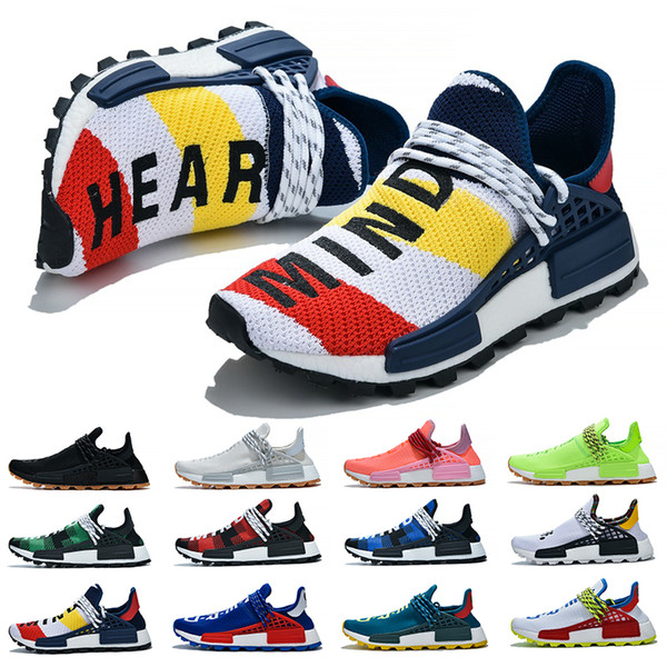 Nmd Human Race Men Women Running Shoes Pharrell Williams Hu Runner