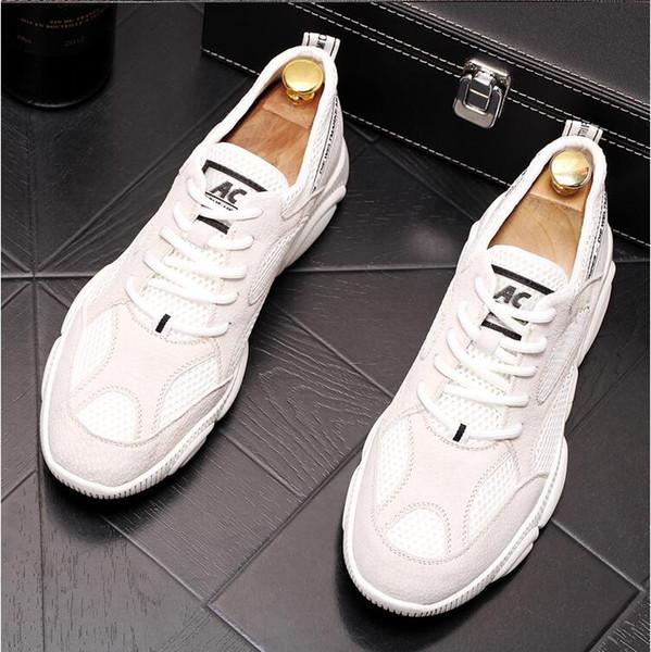 c758359fc 2019 Primavera populares sapatos casuais verão nova tendência sapatos  versão coreana de baixo-top moda