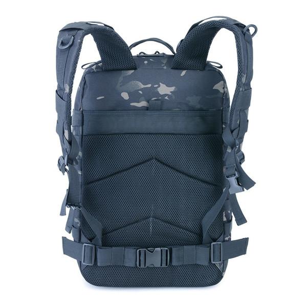 Оптово-Army Tactical Рюкзак 45L Molle Сумки штурмовой пакет Открытый Охота Рюкзаки Туризм Водонепроницаемый Отдых Путешествия рюкзаки