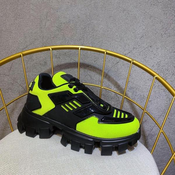 F827 2019 Lüks Tasarımcı Erkek Ayakkabı Erkek Ve Kadın Spor Ayakkabı Kalın soled Dantel-up Avrupa Ve Amerikalı Yıldız Gym Ayakkabı