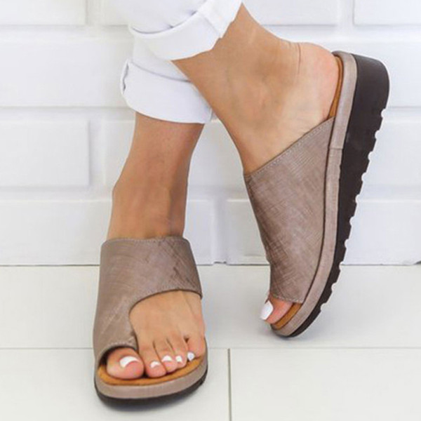 Женская Обувь 2019 Nuevo Плоский Нижний Носок Рукав Chaussures Femme Сандалии На Платформе Женщины Клинья Обувь Лето Zapatilla