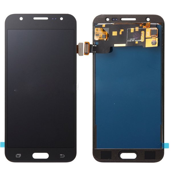 2019 brightness adjustable LCD touch screen for Samsung Galaxy S5 i9600 G900F with frame touch LCD screen digitizer assembly repair parts