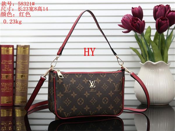 2019 nueva venta de moda bolsos de la vendimia bolsos de las mujeres bolsos del diseñador carteras para las mujeres bolso de cadena de cuero y bolsos de hombro HY6058321