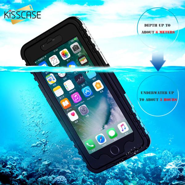Kisscase completa à prova de choque phone case para samsung s10 além de caixa à prova d 'água para samsung galaxy s10 s10e à prova d' água saco