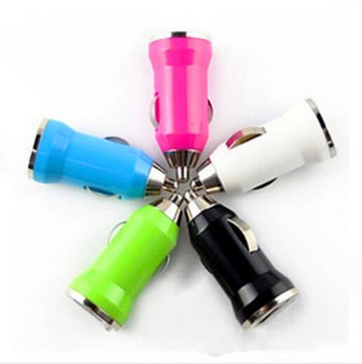 2019 Colorido Carregadores de Carro Bala Mini USB Adaptador USB iPhone Isqueiro Para Iphone 7 Plus Para Samsung S8 Note8 Ipad Pro EGO Carregador