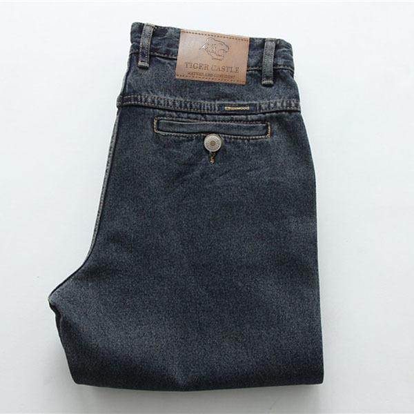 Черные синие джинсы