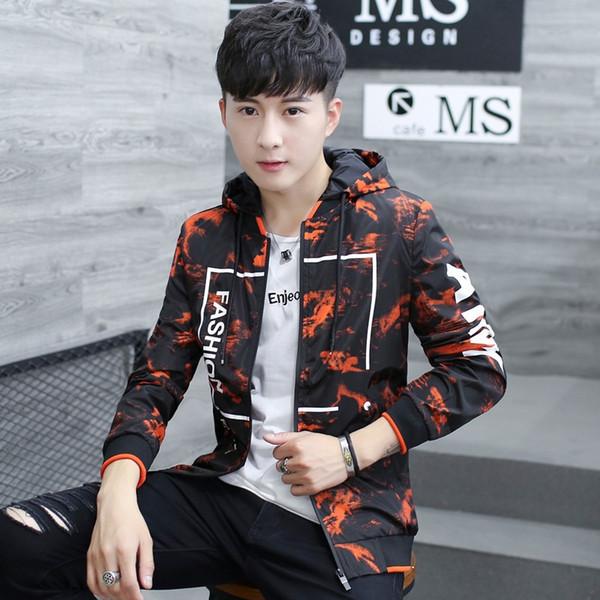 Nuevo Slim Fashion Men Casual Chaqueta Cremalleras Bolsillos Manga larga Chaquetas finas y abrigos Estilo coreano OverCoat Plus Size