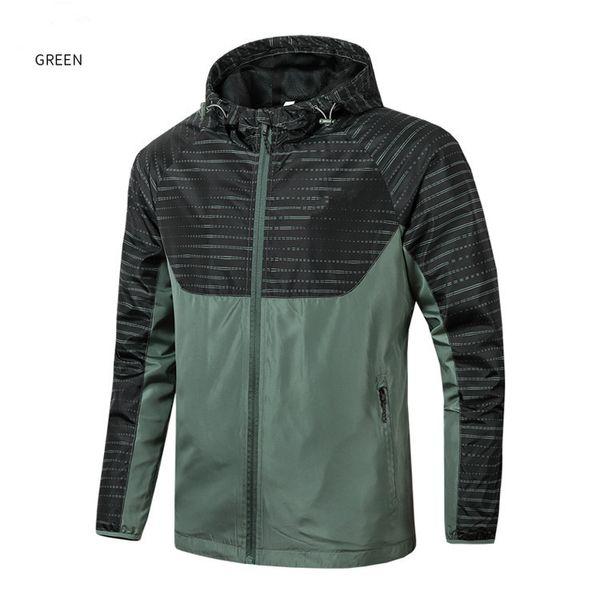 Designer Brande manica lunga di alta qualità 2019 nuovo designer moda uomo sciolto giacca a vento e colori naturali per cappotto sportivo con Siz QSL1999
