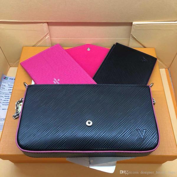 Последняя роскошная сумка модного бренда, дизайнерская сумочка, кошелек высокого качества, фирменная сумка, размер 21/11/2 см, модель 61276