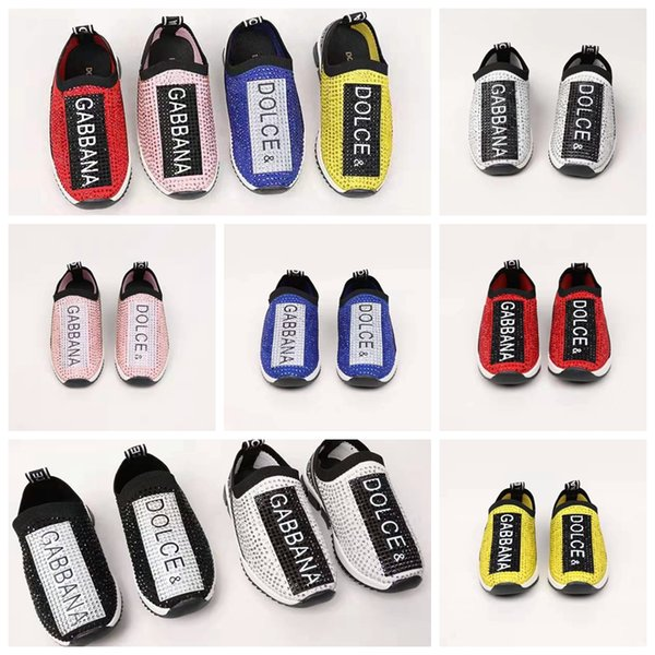 sapatos da moda treinadores de futebol tênis verão Bebé de primavera garoto de inicialização da UE 26-35 marca de sapatos baratos pouco de moda menina crianças de ténis-de-rosa