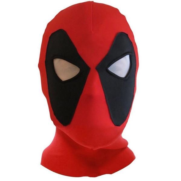 Máscara de Halloween Deadpool Superhero Movie látex máscara máscaras Deadpool cara llena de Halloween máscara de látex para adultos Scary partido Puntales LA165