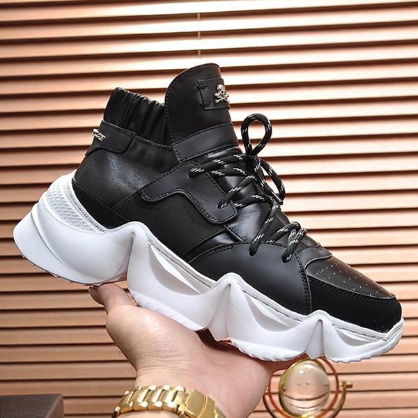 Scarpe casual da uomo Sneakers Hi-Top Sneakers Monster 0.2 Scarpe da uomo Calzature con scatola di origine Scarpe da uomo Stringate Scarpe da uomo firmate di lusso