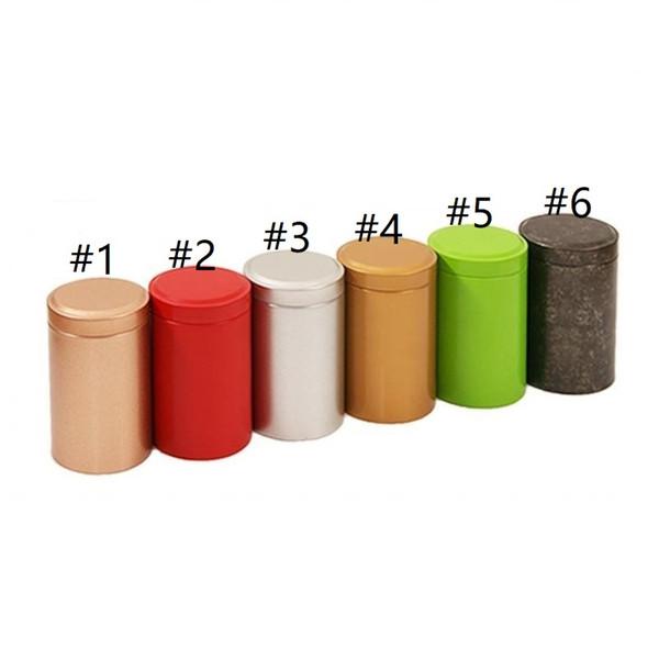 400pcs 55*90mm Tin Box Tea Coffee Sugar Nuts Jar Storage Boxes Metal Coins Candy Jewelry Case Organizer