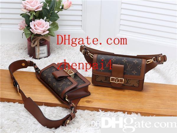 Sacos de viagem de homens Sacos de mulheres bolsas de couro reais Leather keepall 45 Bolsas de ombro totes 44586 tamanho 19.0 x 12.0 x 5.0 cm