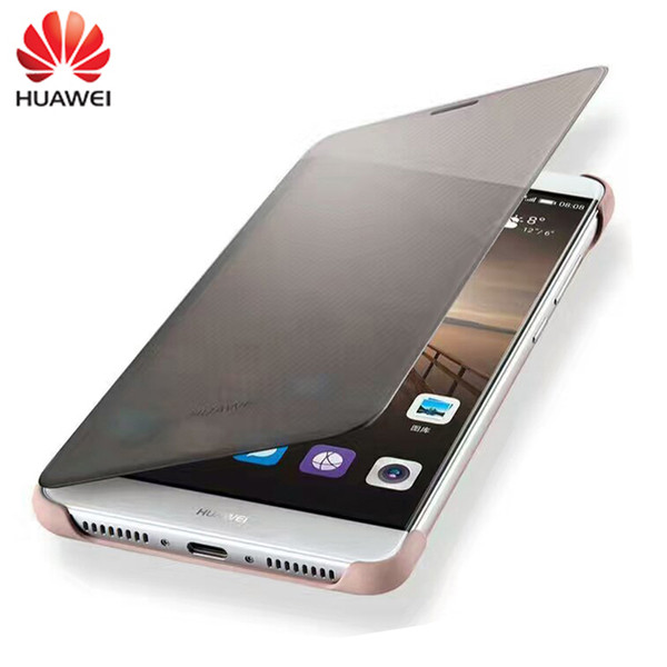 """100% Original Case for HUAWEI Mate9 Case Luxury Smart View Flip Cover Leather Protective shell For Huawei Mate 9 (5.9""""inch)"""