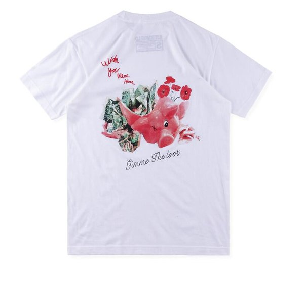 2019 Camiseta Hombre Más Nuevo Tipo Streetwear Moda Impreso Manga Corta Camisetas Hip Hop Patinetas Amigos Camiseta