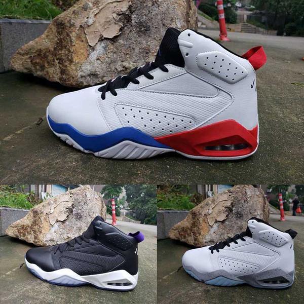 Lift 6 6s plus récent Hommes Chaussures de basket Whitegreen Blackwhite blackred Whitegrey Taille de Sport Athlétique Sneakers 7-12